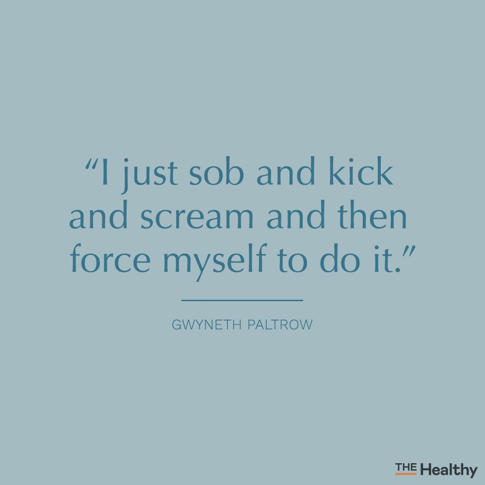 gwyneth paltrow self motivation quote