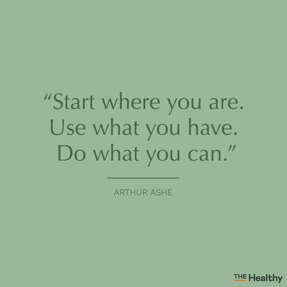 arthur ashe self motivation quote