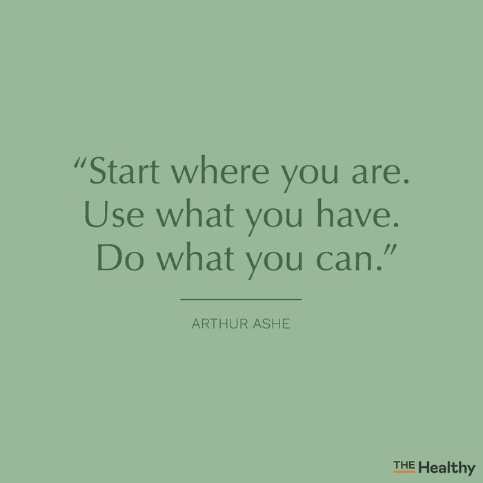 arthur ashe self motivation quote