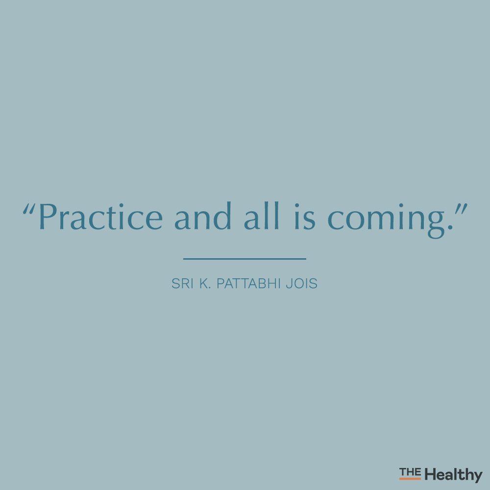 sri k. pattabhi jois self motivation quote