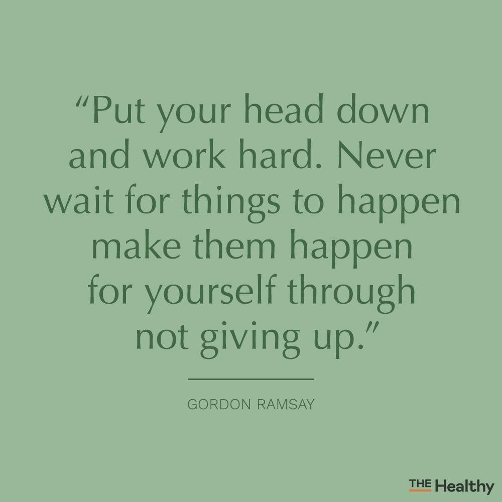 gordon ramsay self motivation quote