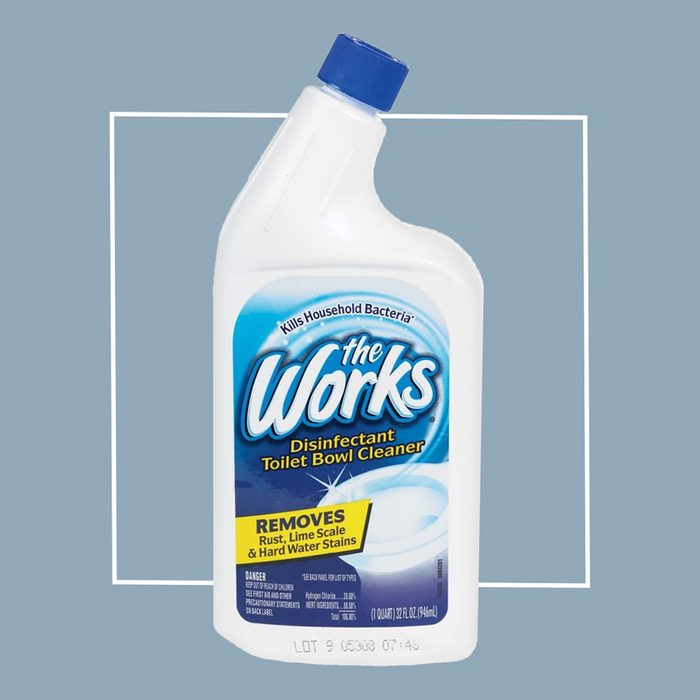 The Works Disinfectant Toilet Bowl Cleaner (Bio-Lab Inc The Works® Basic Disinfectant Toilet Bowl Cleaner)