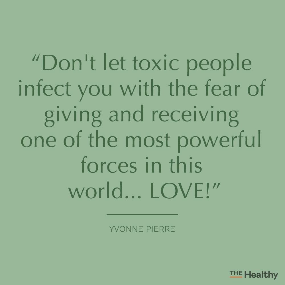 yvonne pierre toxic people quote