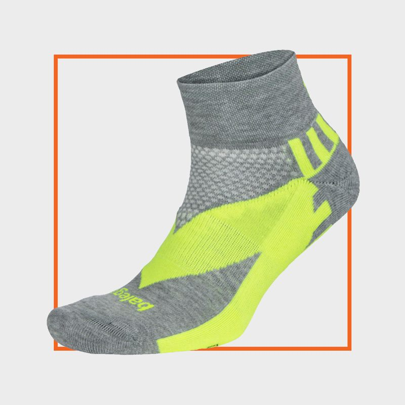 Balega Endure Reflective Quarter Socks