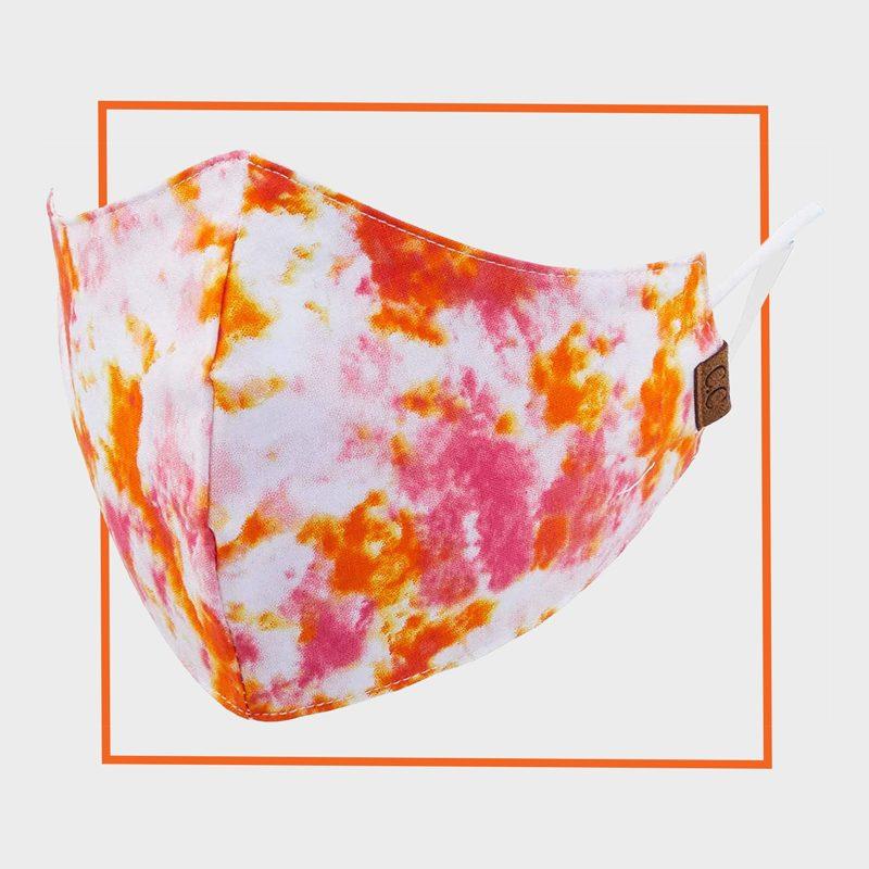 CC Reusable Washable Tie-Dye Face Mask