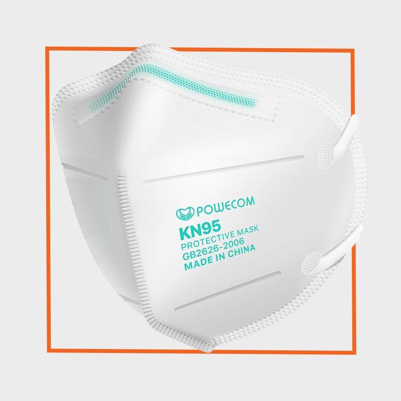 Dolce Calma Powecom KN95 Reusable Disposable Face Mask