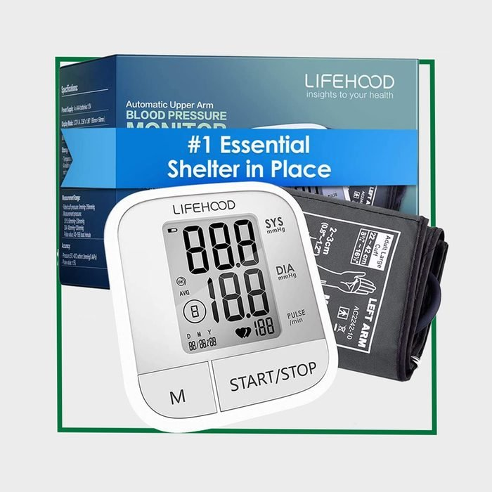 LIFEHOOD Blood Pressure Monitor