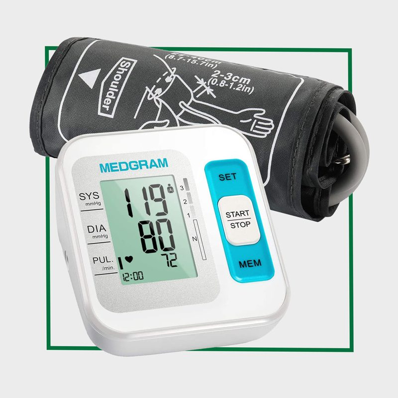 MEDGRAM Blood Pressure Monitor Upper Arm