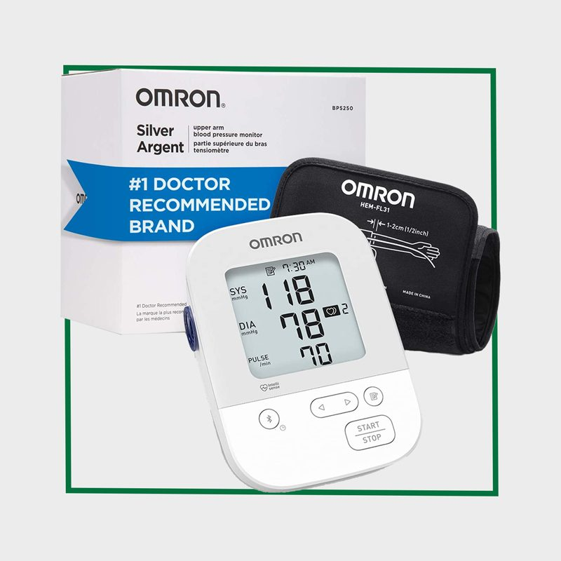 OMRON Silver Blood Pressure Monitor