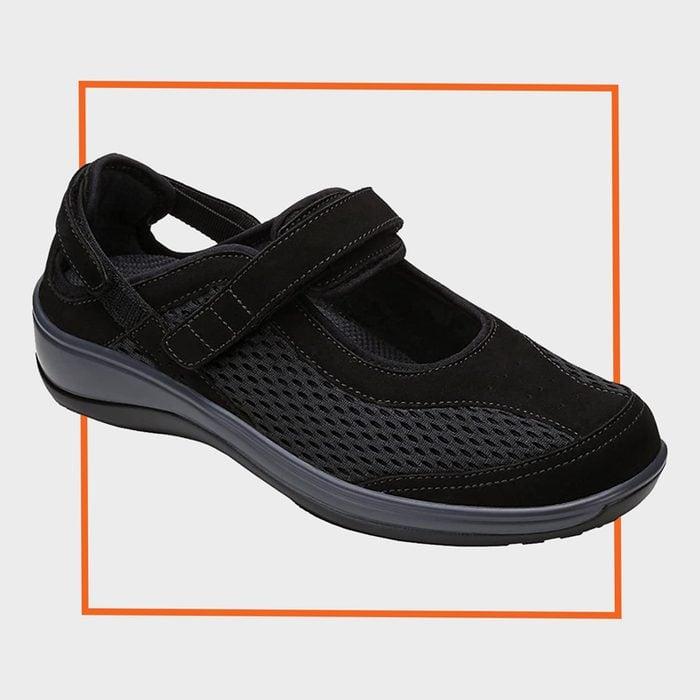 Orthofeet Sanibel Mary Jane Shoes