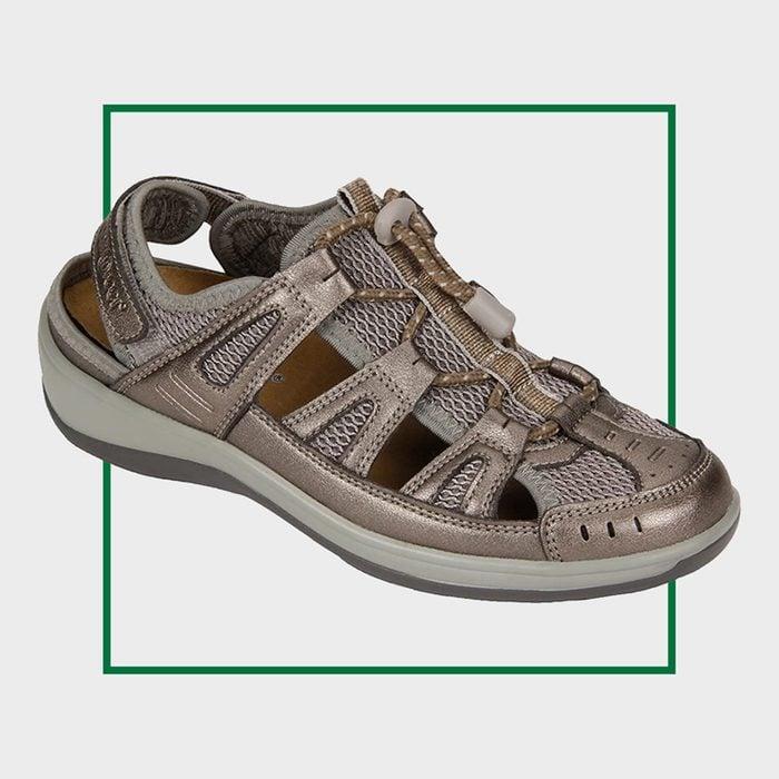 Orthofeet Verona Closed Toe Women's Sandals