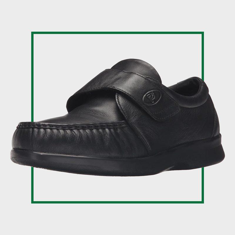 Propét Men's Pucker Moc Strap Shoe