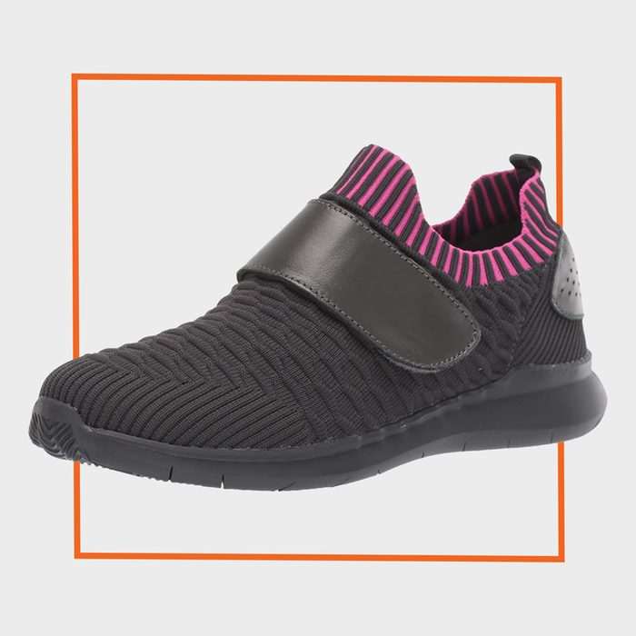 Propét Womens TravelBound Strap Sneaker