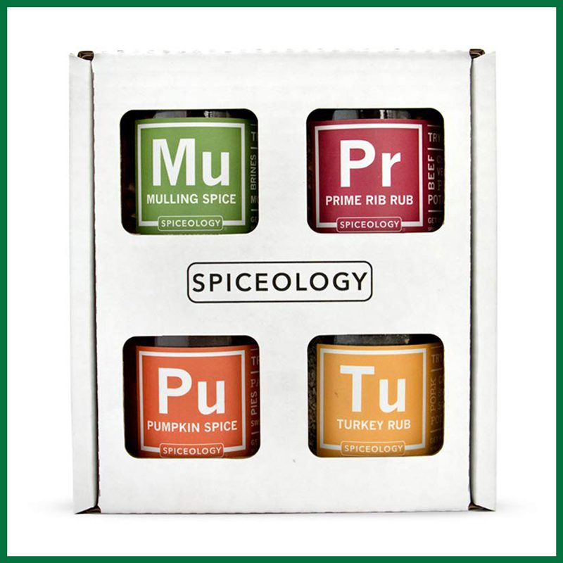 Spiceology Holiday Essentials Spice Set