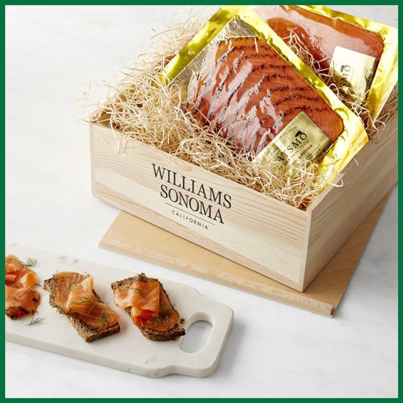 Catsmo Smoked Salmon Trio Gift Crate