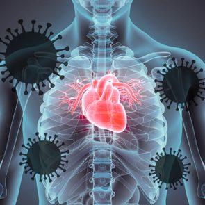 coronavirus heart damage
