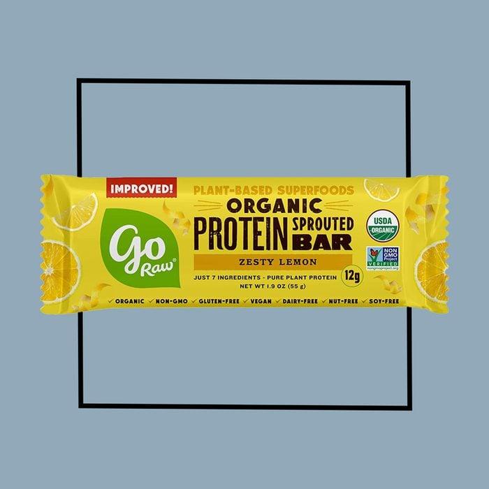 go raw protein bar