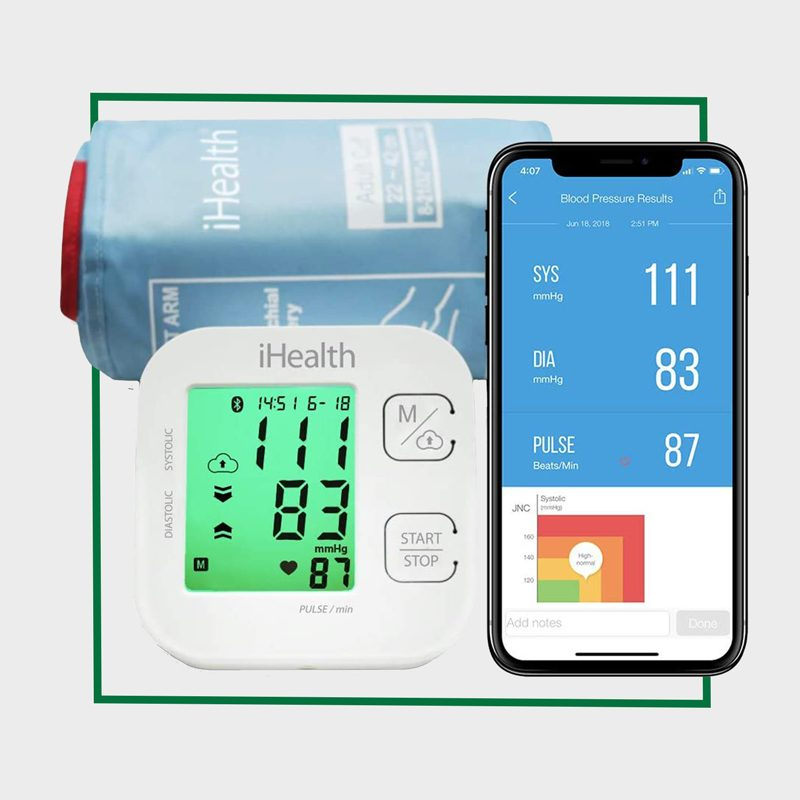 iHealth Track Wireless Upper Arm Blood Pressure Monitor