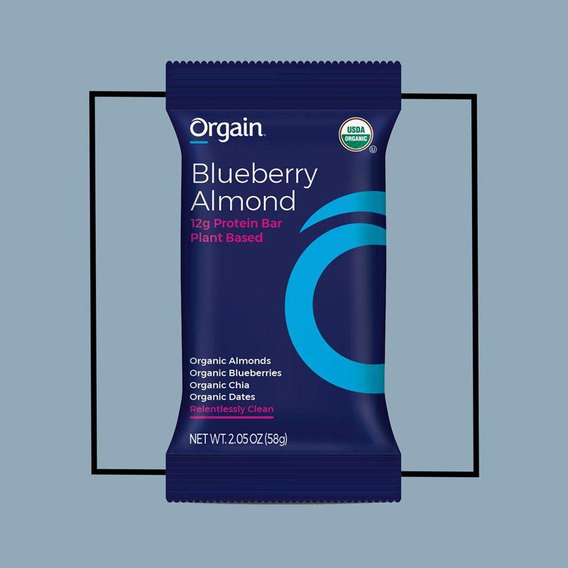 orgain protein bar