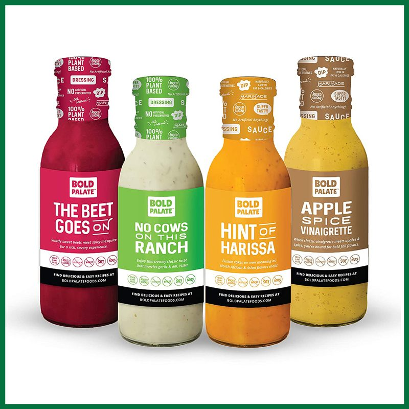 Bold Palate Foods Condiments Variety 4-Pack