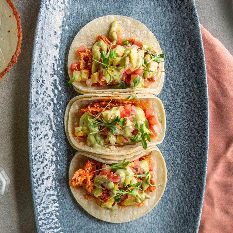 Chef Robert Carr jackfruit tacos