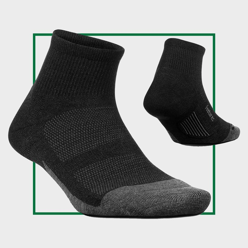 Feetures Merino 10 Cushion Quarter
