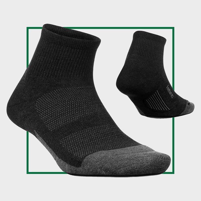 Feetures Merino 10 Cushion Quarter
