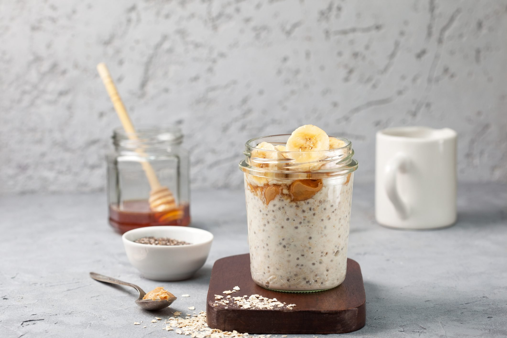breakfast with overnight oatmeal