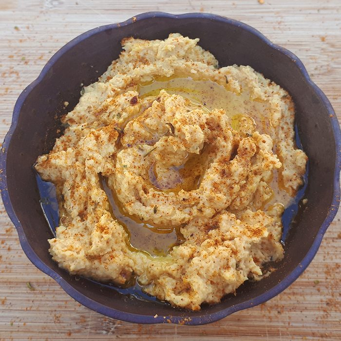curried hummus