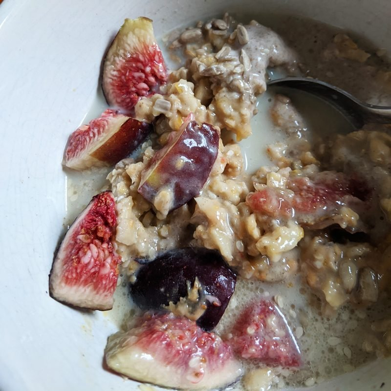 fig chia oatmeal