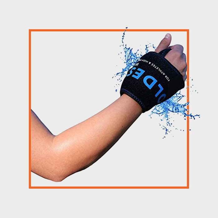 The Coldest Water Wrist Ice Pack