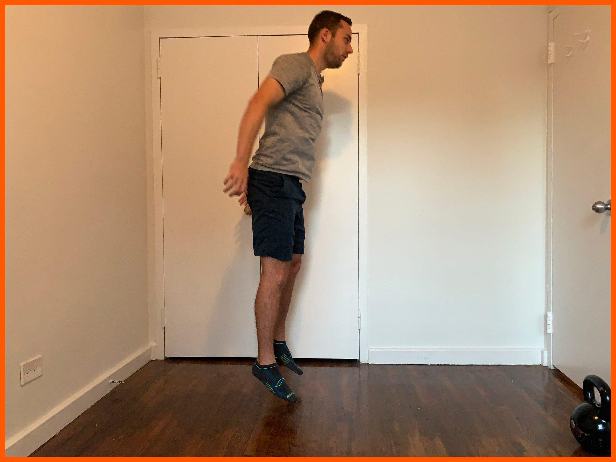 henry halse jump squat exercise