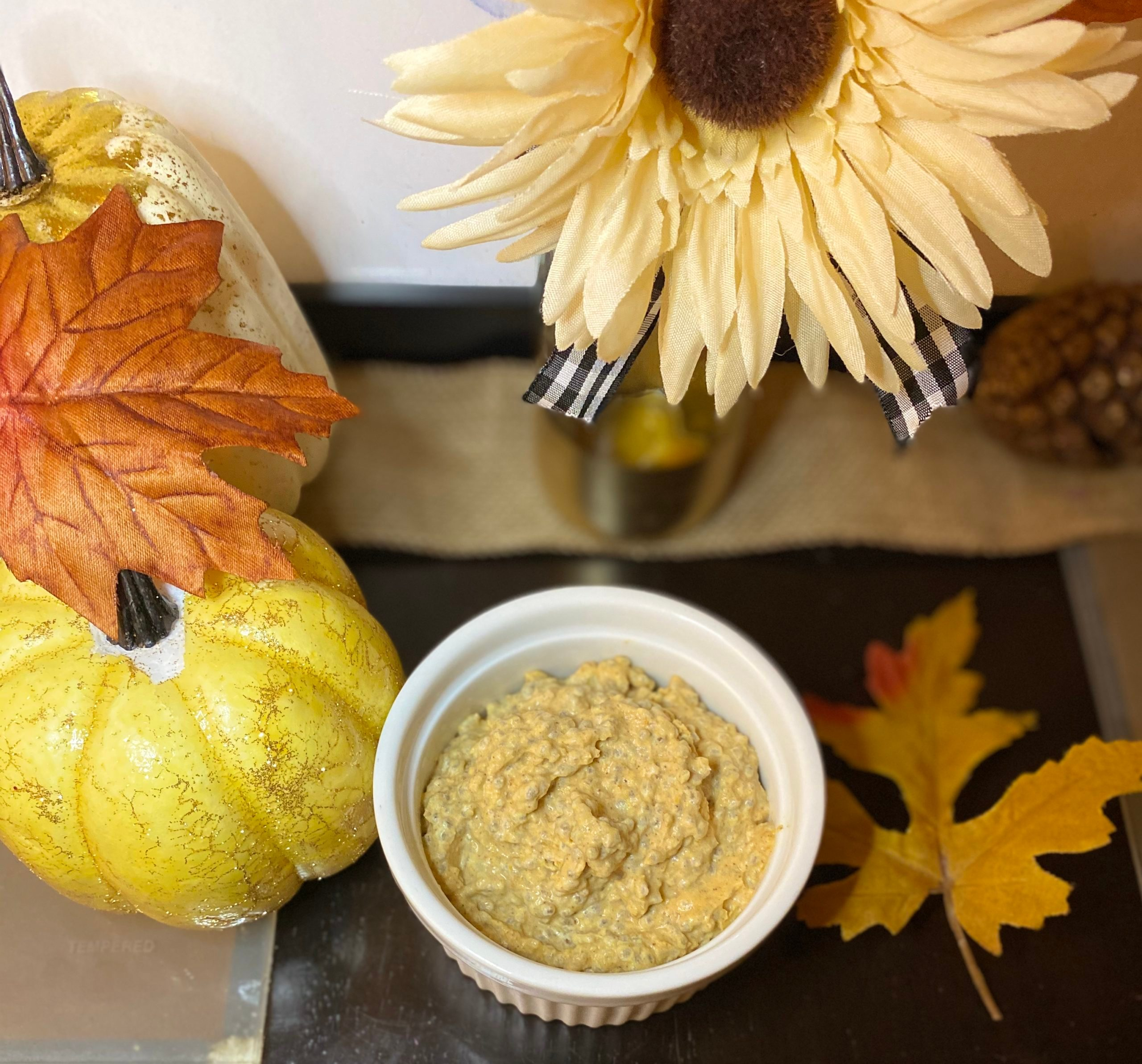 melissa nieves pumpkin spice chia pudding