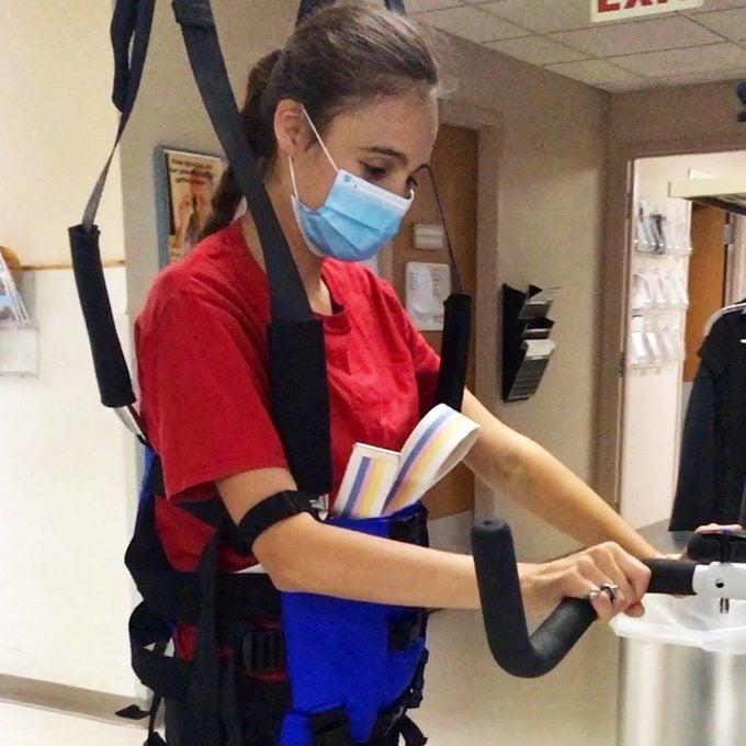 sarah grace richardson in hospital