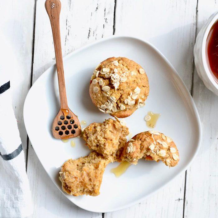 sweet potato chai muffins
