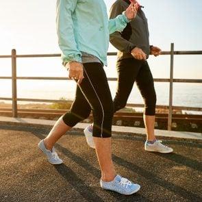 Walking keeps you healthy