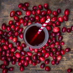 Cranberries and cranberry juice