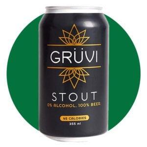 Gruvi Non-Alcoholic Stout