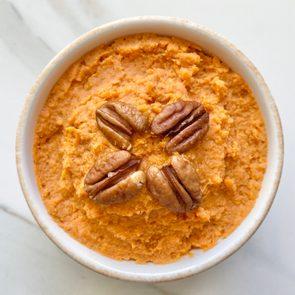 vegan mashed sweet potatoes