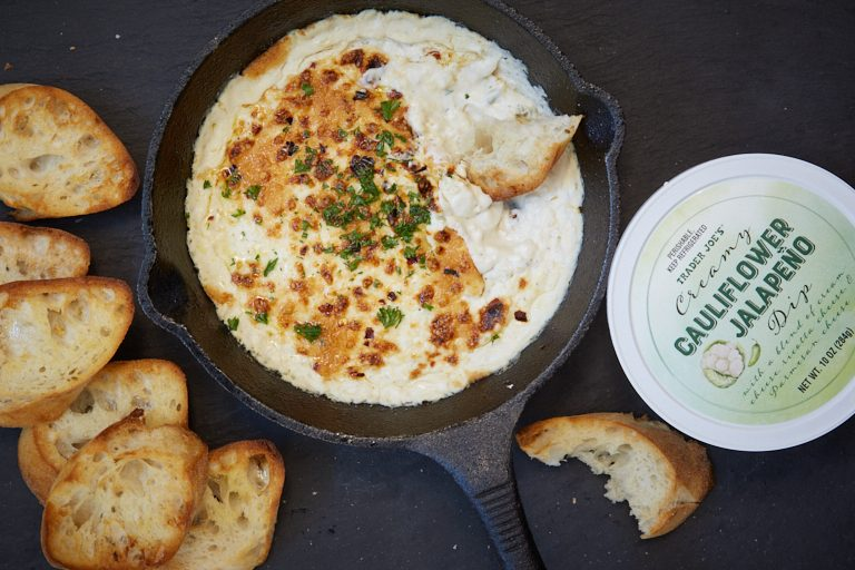 trader joe's cauliflower jalapeno dip