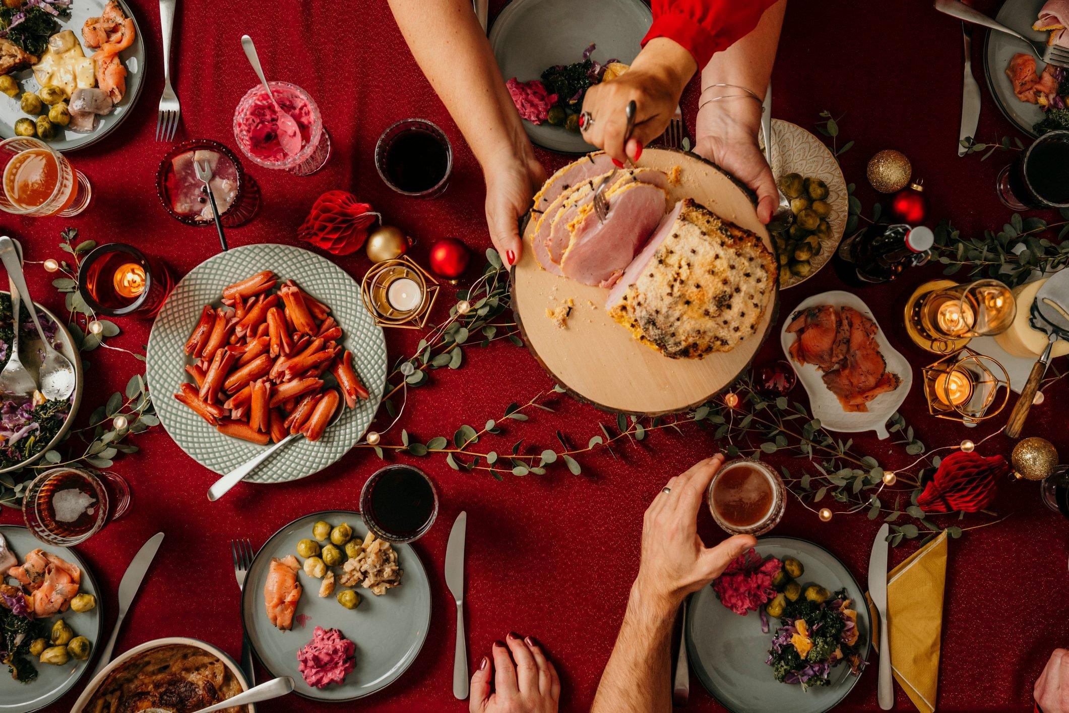 Christmas Food Smorgasbord