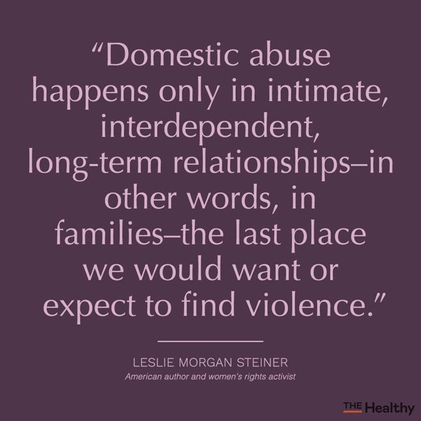 abusive relationship quote card