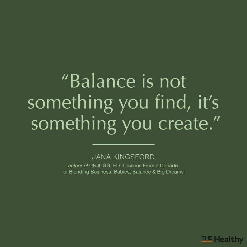 balance quote card