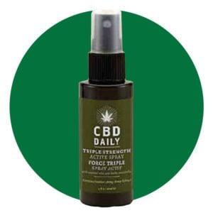 CBD Daily Active Spray Triple Strength