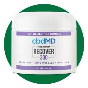 cbdMD Premium Recover 300 cream