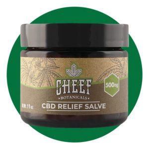 cheef botanicals cbd relief salve