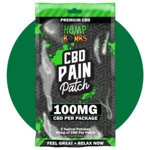 Hemp Bombs CBD Pain Patches