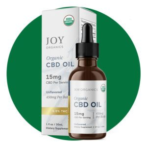 Joy Organics Organic CBD Broad Spectrum Oil Tincture 450 mg