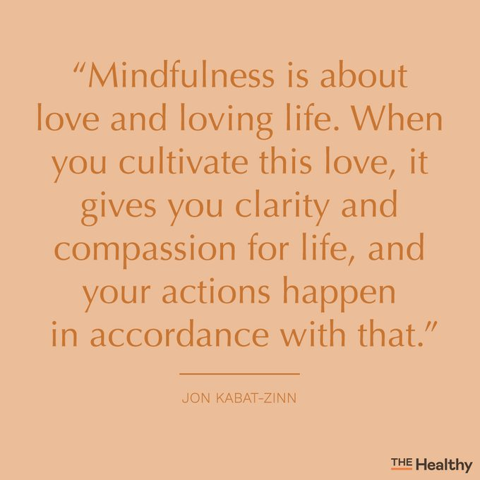 mindfulness quote card