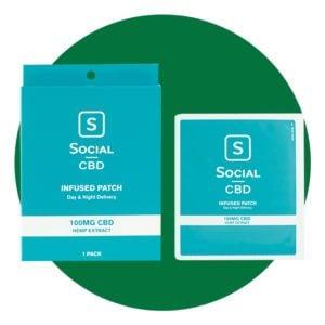 Social CBD CBD Infused Patch